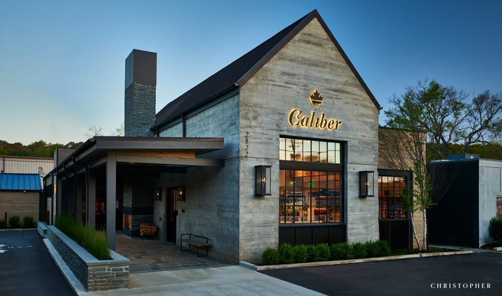 Caliber Outdoors Boutique Commercial Storefront